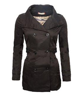 Designer Damen Jacke Übergangsjacke Trenchcoat Mantel Damenmantel