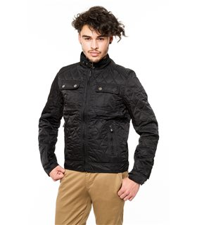 Herren Steppjacke Regular Fit H-056