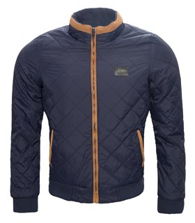 Herren Steppjacke mit Stehkragen Regular Fit H-058