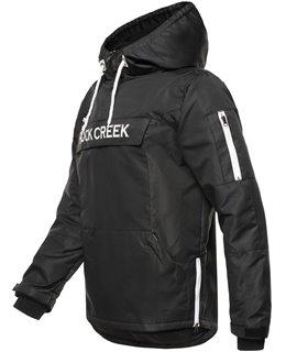 Rock Creek Herren Windbreaker Anorak Schlupfjacke mit Kapuze H-167