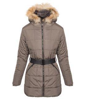 Damen Winter Jacke Steppjacke Parka Mantel Kapuze Winterjacke warm