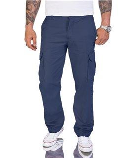 Herren Cargohose Comfort Fit mit Seitentaschen H-194
