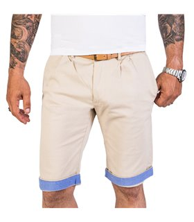 Rock Creek Herren Chino Shorts mit Gürtel H-187
