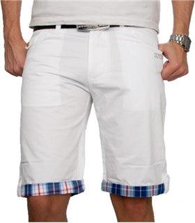 Herren Chino Shorts mit Karomuster H-022