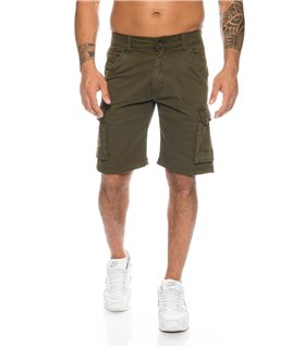 Herren Cargo Shorts Vintage Army-Style Herrenshorts Bermuda