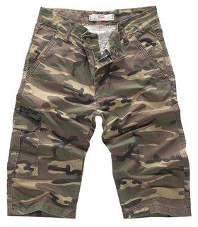 Herren Bermuda Hosen Army Hose Shorts Jeans kurze Hose Camouflage