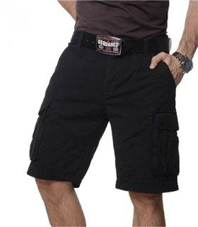 Herren Bermuda Shorts Capri Shorts Cargo Hose Herrenshorts Sommerhose