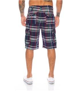 Herren Bermuda Sommer Shorts Hose Capri Karo Shorts Cargo