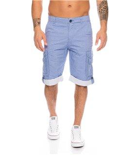 Herren Cargo Shorts mit Taschen H-110