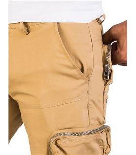 Herren Cargo Shorts mit Seitentaschen H-190