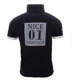 Herren Polo T-Shirt mit Logo Regular Fit H-044