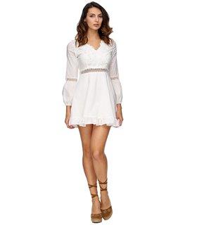 Elegantes Damen Sommerkleid Midikleid D-324
