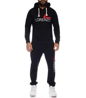 Lorenzo Loren herren trainingsanzug sportanzug jogginganzug zweiteiler