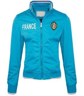 Herren Jacke Sportjacke Trainingsjacke mit Logo Streetwear Herrenjacke