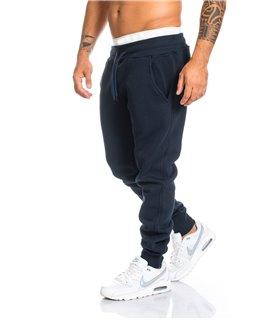 Herren trainingshose jogginghose sporthose fitness hose schwarz grau blau