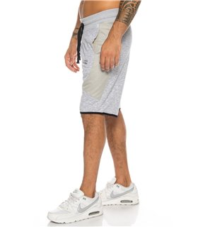 SHIKOBA Herren Sweatshorts Bermuda Shorts Trainingsshorts kurz Hose