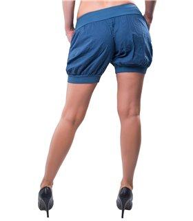 Damen Hot Pants Pump Pluder Aladin Sommerhose Hose Bermuda Shorts HAREM