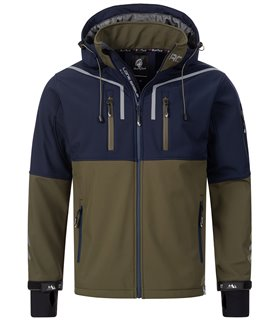 Rock Creek Herren Softshell Jacke Windbreaker H-222