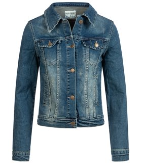 Rock Creek Damen Jeans Jacke Denim Stonewashed D-401