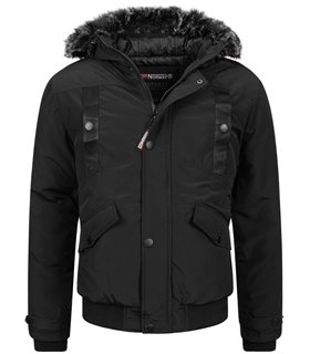 Geographical Norway Herren Winter Jacke mit Kapuze H-239