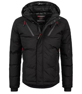Geographical Norway Herren Winter Jacke mit Kapuze H-240