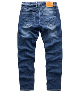 Indumentum Herren Jeans Slim Fit Blau IS-301