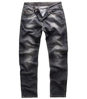 Indumentum Herren Jeans Slim Fit Blau IS-302