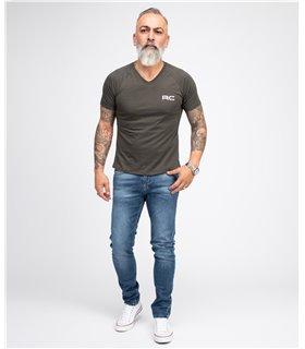 Indumentum Herren Jeans Slim Fit Blau IS-303