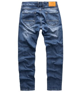 Indumentum Herren Jeans Slim Fit Blau IS-304