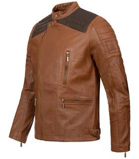 Rock Creek Herren Lederjacke Biker-Style H-181