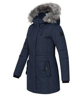 Geographical Norway Damen Winter Jacke mit Kapuze D-445