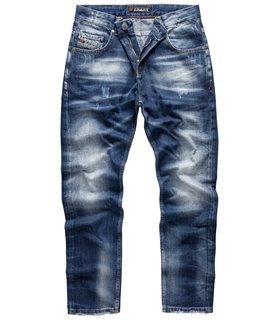 Indumentum Herren Jeans Regular Fit Blau IR-503