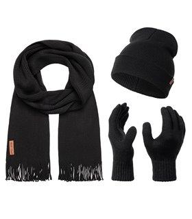 Rock Creek Winter Mütze Schal Handschuh-Set U-100