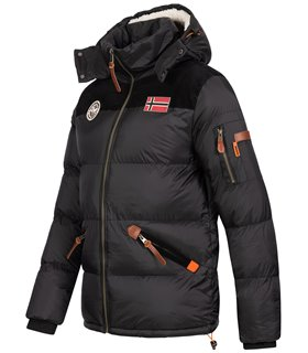 Geographical Norway Herren Winter Jacke mit Kapuze H-253