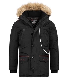 Geographical Norway Herren Winter Jacke mit Kapuze H-254