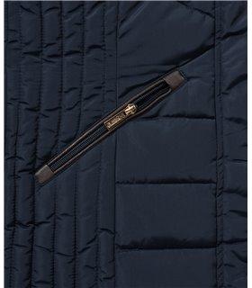 Geographical Norway Damen Winter Jacke mit Kunstfellkragen D-456