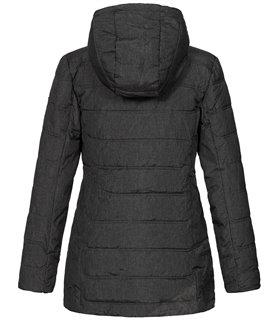 Geographical Norway Damen Winter Jacke mit Kapuze D-457