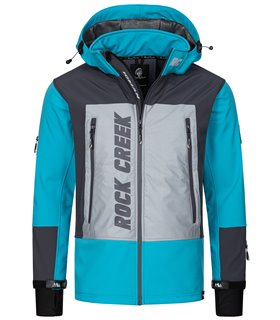 Rock Creek Herren Softshell Jacke Windbreaker H-238