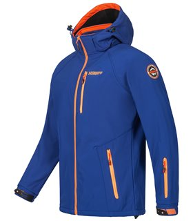 Geographical Norway Herren Softshell Jacke mit Kapuze H-267