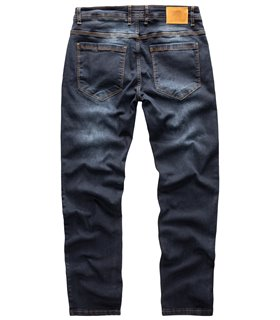 Rock Creek Herren Jeans Regular Fit Dunkelblau RC-2269