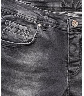 Rock Creek Herren Jeans Regular Fit Grau RC-2158
