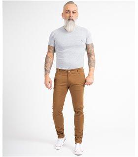 Indumentum Herren Chino Hose Slim Fit IS-305
