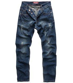 Rock Creek Herren Jeans Regular Fit Blau RC-2103