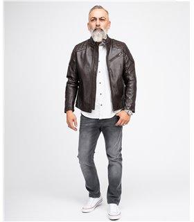 Rock Creek Herren Jeans Stretch Regular Slim Grau RC-2108