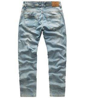 Rock Creek Herren Jeans Stretch Regular Slim Hellblau RC-2109