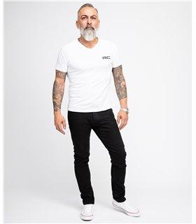 Rock Creek Herren Jeans Slim Fit Schwarz RC-2146