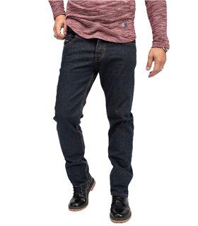 Rock Creek Herren Jeans Regular Fit Dunkelblau RC-2165