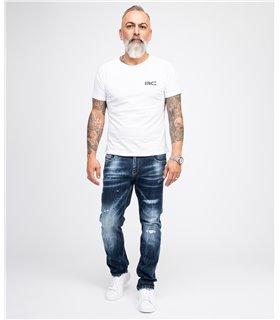Rock Creek Herren Jeans Regular Fit Blau RC-3104
