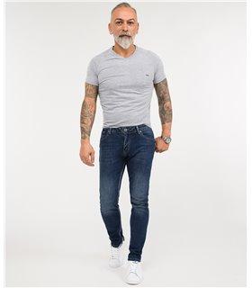 Rock Creek Herren Jeans Regular Fit Blau RC-2345
