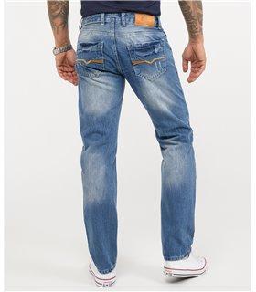 Herren Jeans Designer Clubwear Vintage Destroyed Taschen